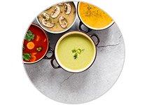Soupes, Veloutés et Potages