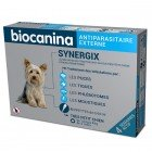 BIOCANINA SYNERGIX TRES PETIT CHIEN 1,5 A 4KG 4 PIPETTES