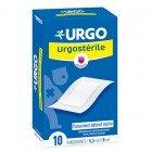 URGO URGOSTERILE PANSEMENT ADHESIF STERILE 5,3X8CM 10 UNITES