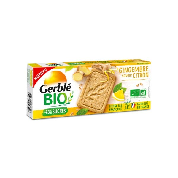 Gerble Bio Gingembre Saveur Citron