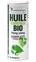Le comptoir de l'Apothicaire huile essentielle Ylang-Ylang complete bio