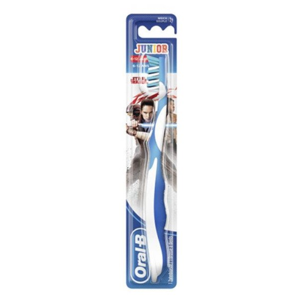 Oral B Brosse à Dents Junior Star Wars +6 ans