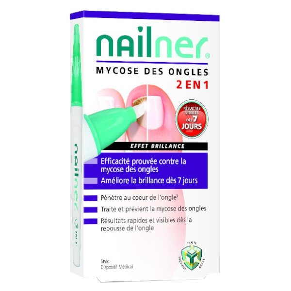 Nailner Mycose des Ongles Repair Pen 2 en 1 4ml