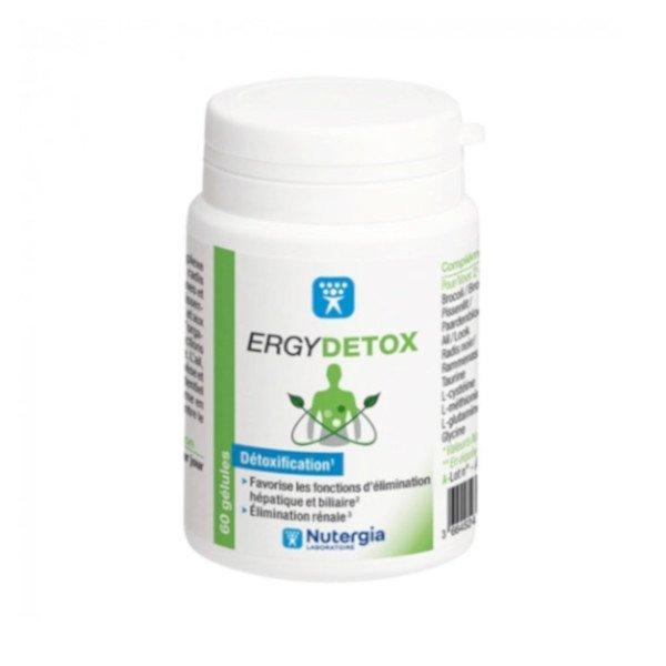 Nutergia ErgyDetox 60 gélules
