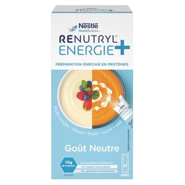 Renutryl Energie+ Enrichisseur Neutre 7 sachets