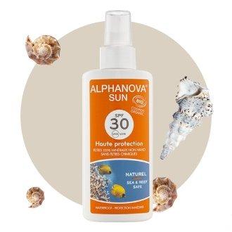 Spray solaire Bio SPF 30 Alphanova