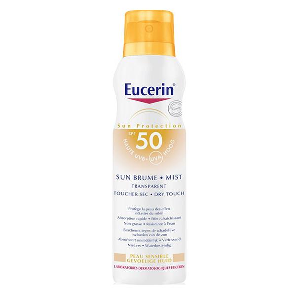 Eucerin Sun Brume Mist Transparent Spray SPF50 200ml