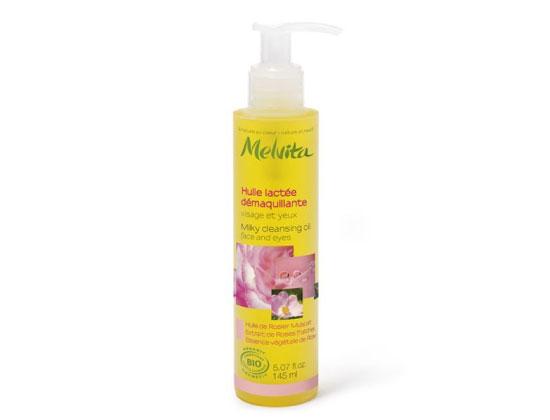 Melvita - Nectar de Roses - Huile Lactée Démaquillante 145ml